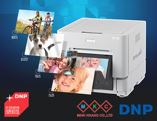 DYE SUBLIMATION PRINTER DNP FROM JAPAN - DYE SUBLIMATION